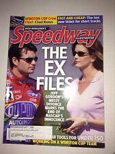 Speedway Illustrated Magazine Jeff Gordon Divorce June 2003 041217nonrh