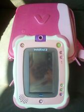 Vtech Innotab 2 kids pink tablet  with carry case & three games