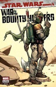 STAR WARS: WAR OF THE BOUNTY HUNTERS ALPHA 1 MINKYU JUNG TRADE VARIANT NM