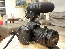 Canon EOS 70D 20.2MP (EF IS USM 18-135mm Lens, Rode Microphone, 128GB SD + More)