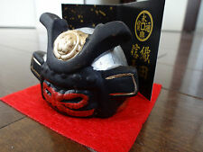 Japanese Samurai ODA NOBUNAGA Helmet Display ~ Powerful Daimyo