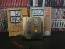 The Legend of Zelda NES PAL-B-FR with Repro Box