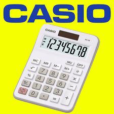 Casio MX-8B blanc idéal étudiant home business office workers bureau top calculatrice