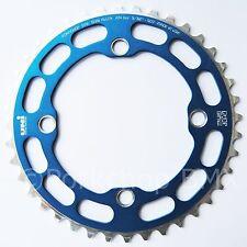 Porkchop BMX single speed bicycle Chop Saw I Chainring 40T 4 bolt 104 bcd BLUE
