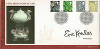 2001 ALL 4 NI DEFINITIVES BENHAM FIRST DAY COVER HAND SIGNED BY ERIC KNOWLES SHS