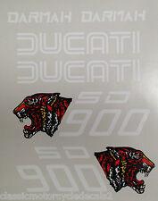 DUCATI DARMAH SD900 SET ADESIVI