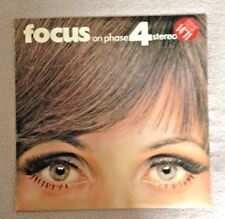 LP  FOCUS ON PHASE 4 STEREO 1968.