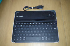 Logitech ZAGG Bluetooth Wireless Keyboard / Case Y-R0023 For iPad
