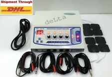 Electrotherapy Physical Therapy Machine Physiotherapy 4 Channel Electrotherapy