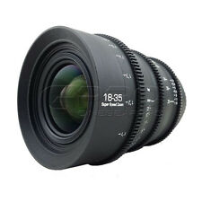 G.L optics 18-35mm F1.8 pl mount été relogées cine lens (120 degré focus rotation)