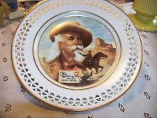 Pony Express 100Th Anniversary Of Bufffalo Bills Wild West Plate