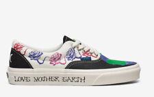 Vans Era Mother Earth Elements Shoes Men Size 8.5 / Women Size 10 White Black