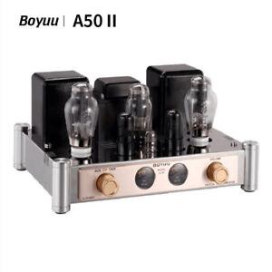Boyuu A50 II 300B Single-end Class A HiFi 12AT7 Integrated Vacuum Tube Amplifier