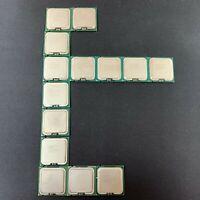 Lote 14 CPU Socket 775 Core 2 Duo, Pentium E8400 E6550 E6500 working job lot