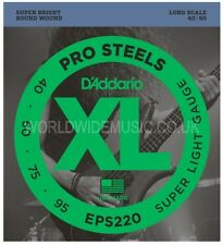 D'Addario EPS220 Pro Steel Super Light Long Scale Bass Guitar Strings 040 - 95