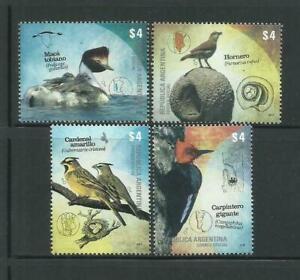 2013 Fauna- Birds - Argentina MNH