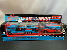 Matchbox STP Richard Petty #43 COE Tractor Truck w Trailer & Load NASCAR Lot
