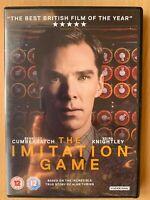 Imitation Game DVD 2014 Enigma Code Alan Turing Drama w/ Benedict Cumberbatch