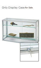 """New Retail Upright Glass Countertop watch Jewelry Display Case 18""""H x 8""""D x 30""""L"""