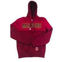 Maroons Zip Up Jacket QLD State Of Origin Size Small Hood