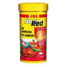 JBL NovoRed 250 ml, Hauptfutter-Flocken für Goldfische