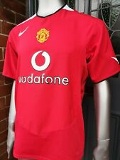 Immaculate Authentic Nike Manchester United 2004-06 Home Football Shirt. Large.