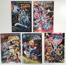 COSMIC POWERS UNLIMITED #1-5 COMPLETE SET ~1995 MARVEL~SILVER SURFER~ VF/NM LOT!