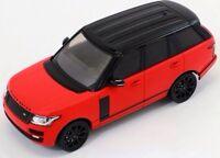 Range Rover 2013 Red Matt with Black Pack and Black Roof - Premium X PRD405