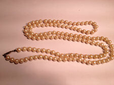 Imitation Pearl  necklace 40""