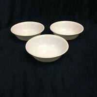 """Corelle by Corning White Soup Cereal Bowls 6 1/4"""" Set of 3 Made USA Vintage"""