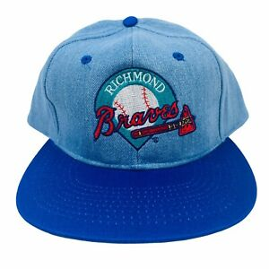 Richmond Braves Snapback Hat Minor League Baseball Cap - New Deadstock Vintage