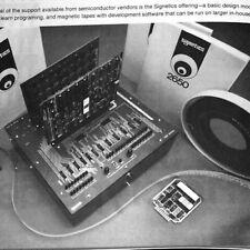 1976 AMD 2900 DEC LSI-11 MMI 5701 SC/MP 2650 F8 IMP-16 Z80 Intel Microprocessors