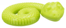 Trixie Snack Snake with Squeaker - Fill with Dog Treats or Paste - 2 Sizes