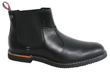Timberland Earthkeepers Brook Park Mens Chelsea Black Leather Boots 5517A T7