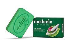 Medimix Ayurvedic Soap 125gm +18 Herbs Pimple Acne Cure Skin Problems body odour