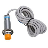 Approach Sensor 1-10mm Cylindrical Capacitive Proximity Switch NPN NO DC 6-36V