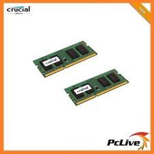 Crucial 16GB DDR3 1600 Mhz Memory 2x 8GB SODIMM 1.35V Laptop RAM PC3 12800 DDR3L