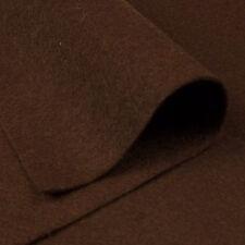 Woolfelt Chocolate Brown ~ 22cm x 90cm / felt fabric wool bear toy dark quilting