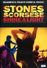 SHINE A LIGHT ROLLING STONES MARTIN SCORSESE - DVD DOCUMENTARIO ROCK - NUOVO!!!