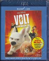 Blu Ray + DVD : Volt Star malgré lui - Disney - NEUF