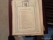 Tchaikovsky: German Song, op 39/17, piano (Schirmer)