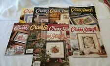 For the Love of Cross Stitch Magazines - 9 magazines - various years