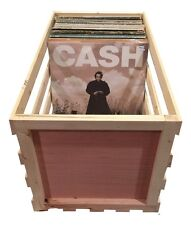 "24"" Wooden Vinyl Record Storage Crate ...Album, LP, Record Storage and Display"