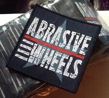 Abrasive Wheels Woven Sew On Patch 80x80mm