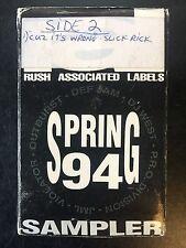 RAL SPRING 94 SAMPLER Blazin' In Da Nine Fo' PROMO CS 1994 OG SLICK RICK VG+