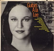 "PEGGY LEE ""GUITARS A LA LEE"" VOCAL JAZZ LP CAPITOL T 2469"