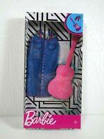 Barbie Doll Clothes Accessories NEW Set Lot Guitar Dress Music Musician