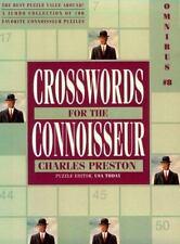 Crossword Puzzles for the Connoisseur Omnibus 8 Crosswords for the Connoisseur