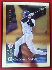 "Derek Jeter #2 New York Yankees Wood Plaque ""1996 Rookie Of The Year"""