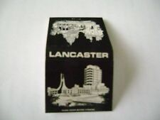 "1- Feature match book, ""THE LANCASTER UNIVERSITY"", England, complete."